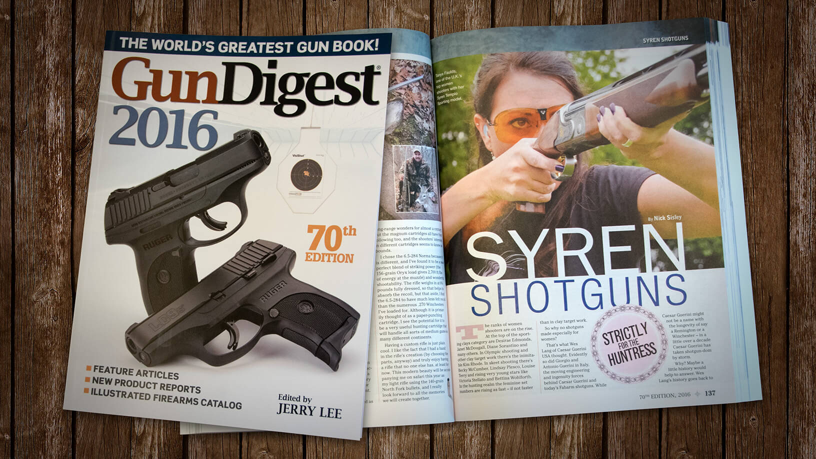 [Gun Digest 2016] Syren Shotguns: Strictly for the Huntress